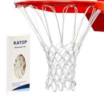 KATOP Basketball Net,Replacement Heavy Duty Outdoor Indoor All Weather Thick Nets 12 Loops