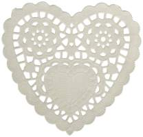 "Amscan 14359.08 Paper Doilies, 3 1/2"", White"