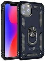 """CoverON Metal Ring Holder Kickstand Resistor Series for iPhone 11 Pro Max Case (2019) 6.5"""", Navy Blue"""