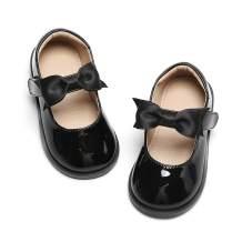 Otter MOMO Girl's T-Strap School Uniform Dress Shoe Mary Jane Flat
