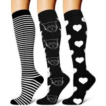 Copper Compression Socks for Women & Men - Best for Running, Athletic, Medical, Pregnancy and Travel - 15-20mmHg