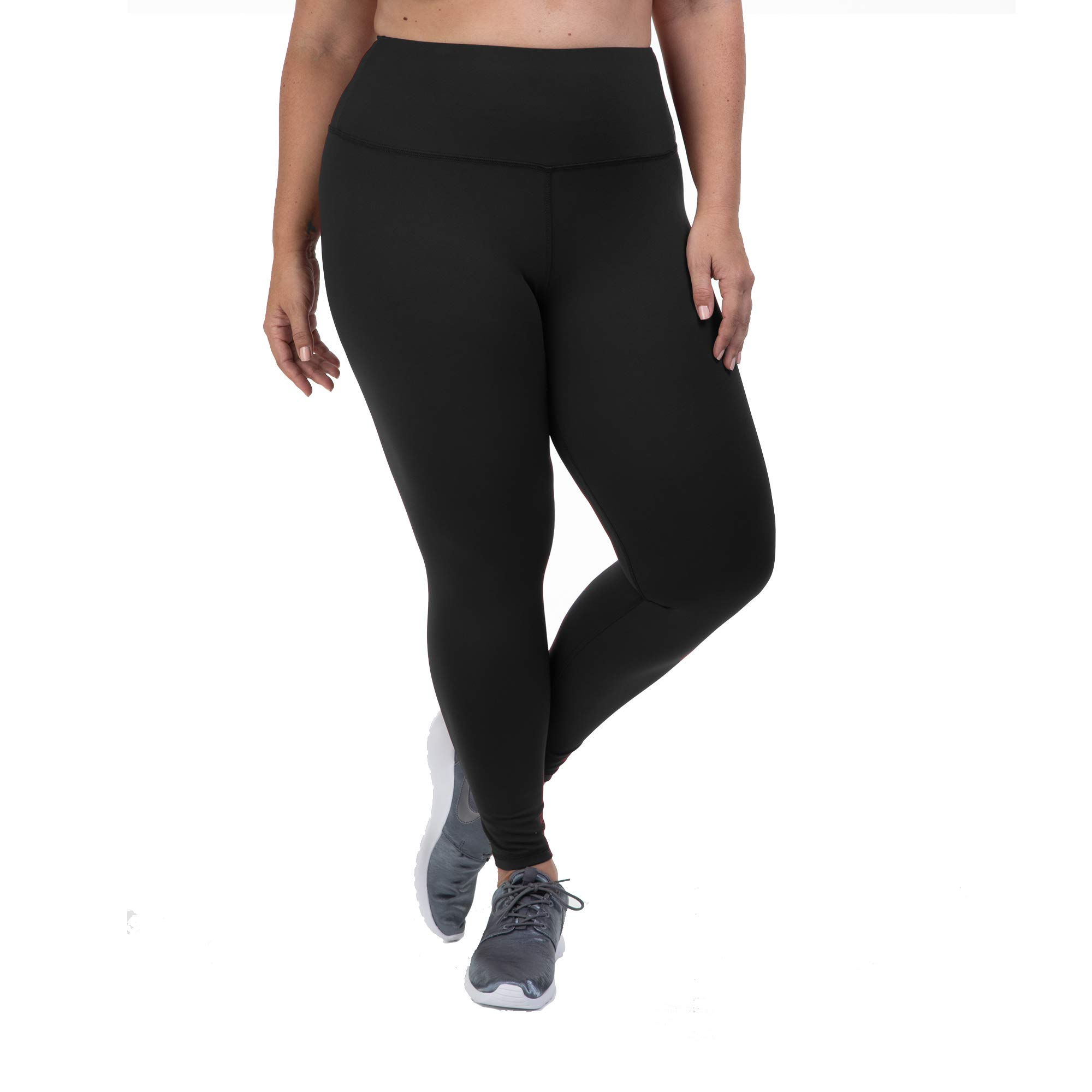 Lola Getts Plus Size High Rise Non-Sheer Leggings -That Won't Roll - Size 14-28