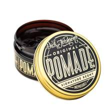 Dick Johnson Mens Hair Pomade Water-Based and Water Soluble for Barbershop Quality Styling at home Great Scent of Whiskey and Vanilla