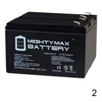 Mighty Max Battery ML9-12 - 12 Volt 9 AH SLA Battery - Pack of 2 Brand Product