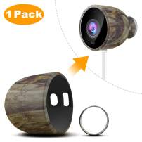 Nest Cam Outdoor Skin, Taken Silicone Skins for Nest Cam Outdoor Security Camera - Durable and Weatherproof Nest Cam Outdoor Cover (1 Pack, Camouflage)