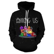 EmeJate Among Us 3D Printing Hoodie Sweatshirt Boy and Girl Casual Streetwear