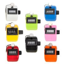 GOGO 8 Pcs Assorted Colors Tally Counters Plastic Counter Clicker Mechanical Palm Click Counter