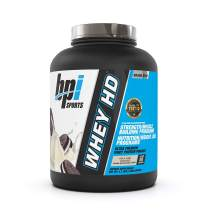 BPI Sports Whey HD Ultra Premium Protein Powder, Milk and Cookies, 4.1 Pound