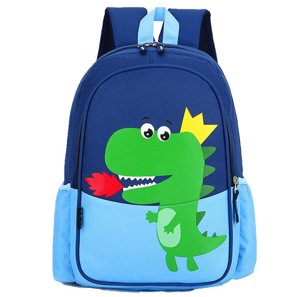 POWOFUN Kids Toddler Preschool Travel Backpack Kindergarten Cool Cute Cartoon Schoolbag Backpack Backpack Bookbag For Girls Boys Baby Blue Dinosaur Fit A4