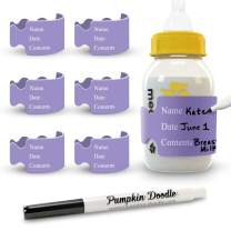 The Original Write and Reuse Baby Bottle Labels for Daycare