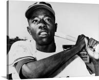 DOLUDO Canvas Wall Art Print Black White American Vintage Baseball Player Sports Posters Painting Pictures for Living Room Bedroom Home Decoration Artwork No Frame 20x28inch
