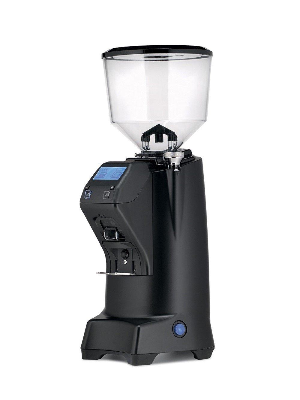 Eureka Club E Doserless Commercial Grade 60mm Flat Burr Espresso Coffee Grinder - Black