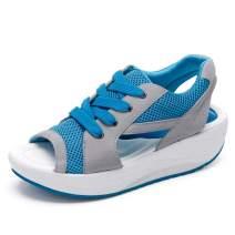 DUOYANGJIASHA Women's Flat Fashion Bohemia Flip Flops Summer Beach T-Strap Cute Sandals Comfortable Shoes