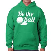 Golfer Sports Golf Be The Ball Quote Gym Hoodie