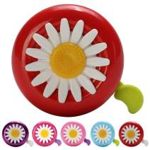 SIKAF MALL Kids Bike Bell, Bicycle Bell for Kids Girls & Boys, Fits for 22.2mm Handle bar, Bike Horn Accessories