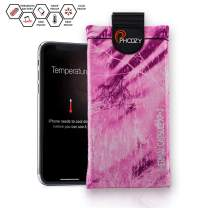 PHOOZY Realtree XP3 Thermal Phone Case - Helps Protect from Sun/Heat, Extends Battery Life, Floats in Water. for 8+/Xr/Xs Max/11/11 Pro Max, S8+/S9+/S10+ and Similar Phones [Pink Fusion - XL Size]