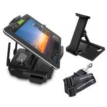 "O'woda Foldable 7-10"" Tablet Holder Plastic Tablet Clip with CNC Aluminum Bracket Mount for DJI Mavic Air 2 /Mini/Mavic Pro & Platinum / Spark / Mavic Air / Mavic 2 Pro & Zoom"