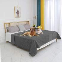 fuguitex Waterproof Dog Blanket Bed Cover Dog Crystal Velvet Fuzzy Cozy Plush Pet Blanket Throw Blanket for Couch Sofa