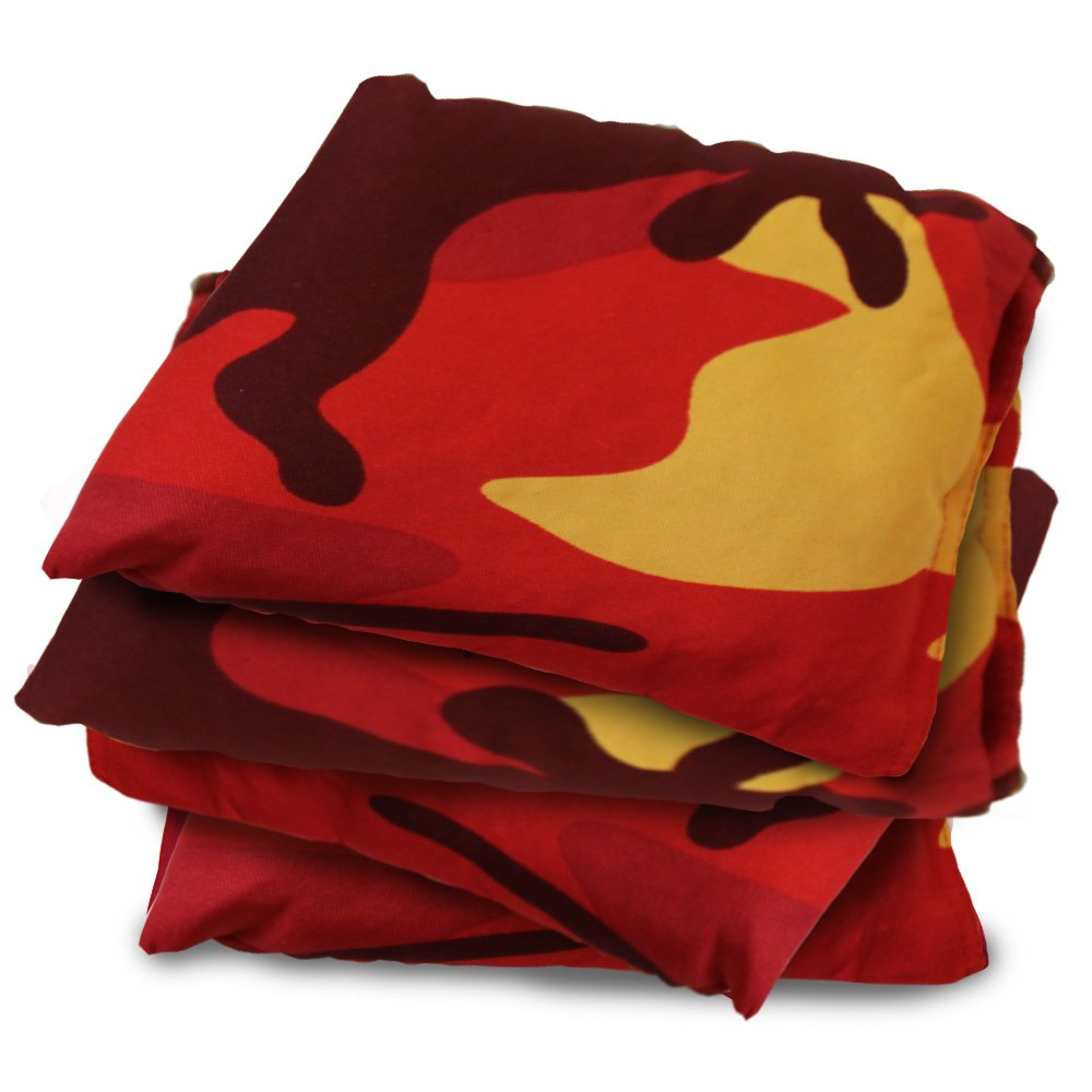 Driveway Games All Weather Cornhole Bean Bag Set. Waterproof Regulation Corn Toss Bags
