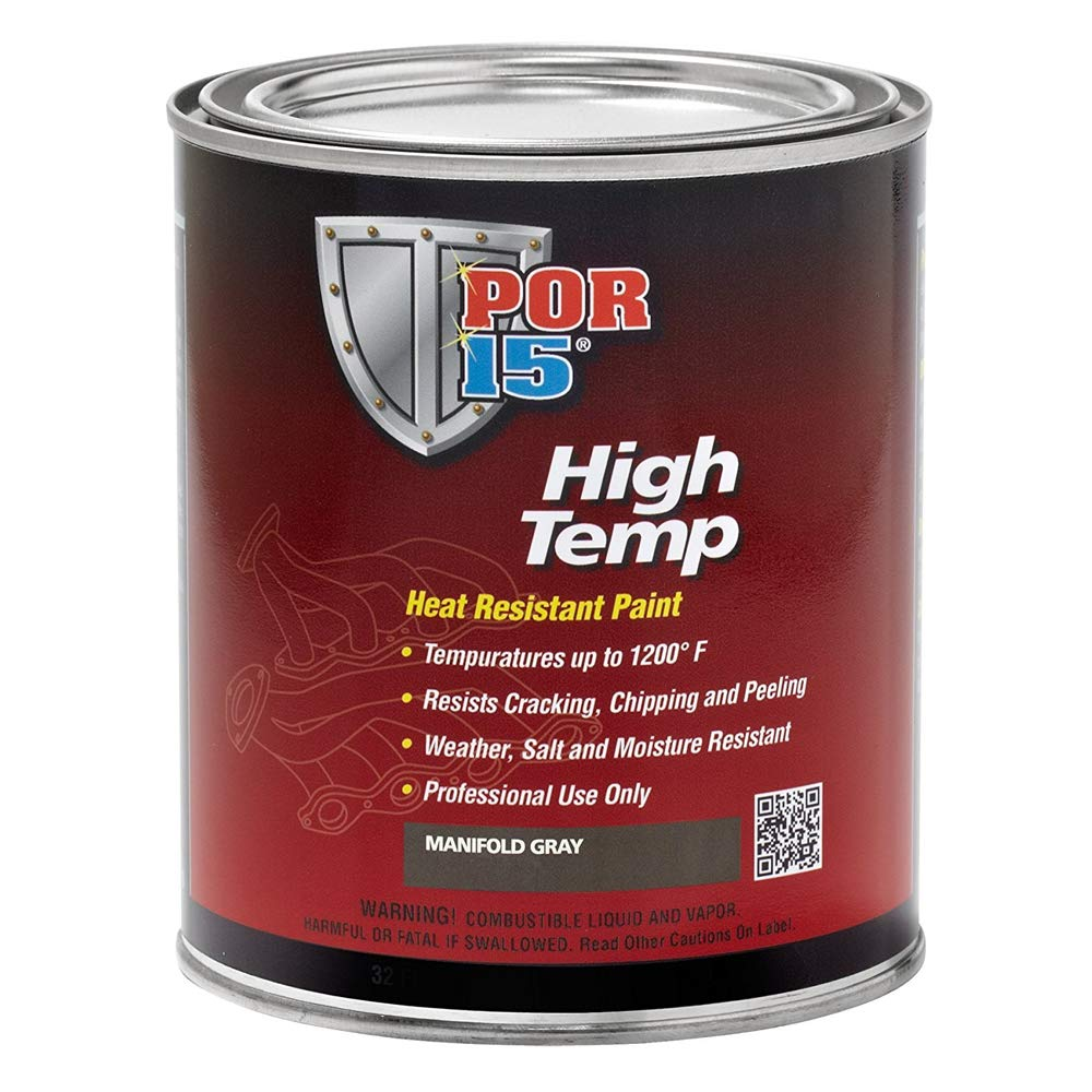 POR-15 High Temperature Heat Resistant Paint