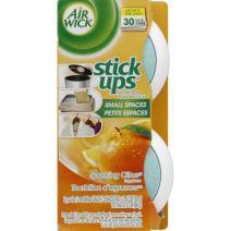 Air Wick Stick Ups Air Freshener, Sparkling Citrus, 2ct