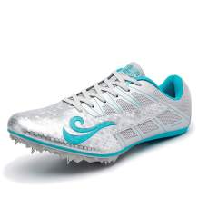 BETOOSEN Track Spike Running Sprint Shoes Track and Field Shoes Mesh Breathable Lightweight Professional Athletic Shoes (Boys, Girls,Womens, Mens)