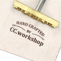 """Custom Branding Iron for Wood,Mather Day Gift Leather Branding Iron Stamp BBQ Heat Stamp with Wood Handle for Baking, Wood and Leather (1""""x1"""")"""