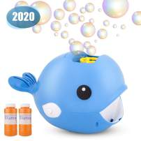 Beyondtrade Bubble Machine【2020 Upgraded】Automatic Bubble Maker 2000+ Bubbles Per Minute,Portable Battery Bubble Blower Toy for Kids Boys Girls Ages 4-8,8-12,Use for Indoor Outdoor Game Party Wedding