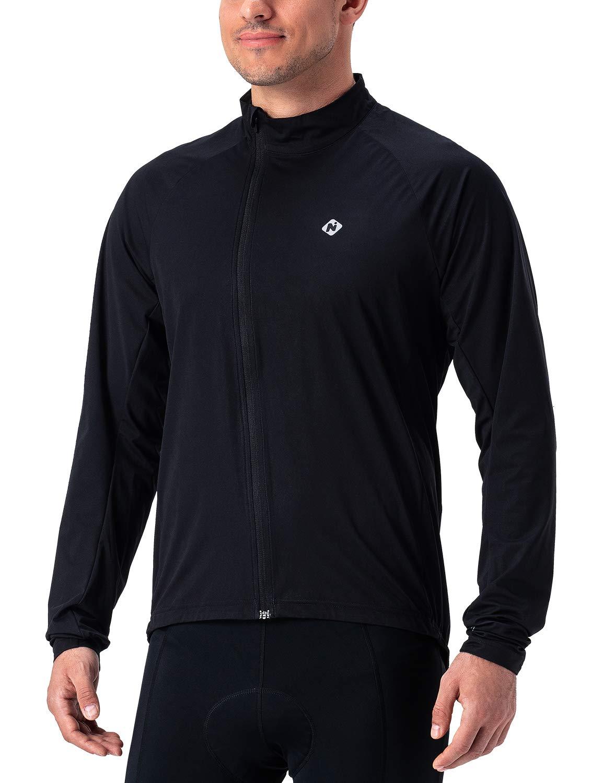 Naviskin Men's Cycling Jacket Lightweight Windproof Water Resistant Windbreaker Bike Coat
