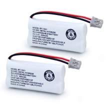 QBLPOWER BT1021 BBTG0798001 Battery Compatible with Uniden DECT 6.0 BT1008 BT-1021 BT1016 Cordless Phone Rechargeable 2.4V NIMH (2 Pack)