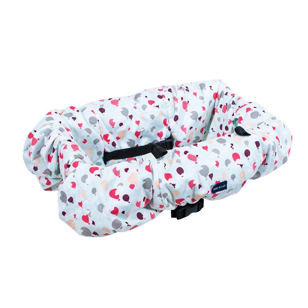 Bebe au Lait Shopping Cart Covers, Hot Air Balloons