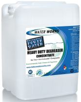 WaterWorks Heavy Duty Degreaser Concentrate - 5 Gallon (makes 60ea - 32 oz bottles) - Industrial Cleaner & Degreaser, Concentrated