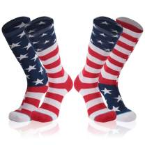 Novelty Crazy Crew Socks, Gmark Unisex Fitness Cartoon Cotton Soft Warm Winter Cozy Socks S/M/L
