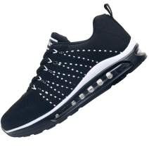 RomenSi Women's Air Cushion Sneakers Lightweight Casual Gym Sports Athletic Tennis Comfortable Casual Walking Shoes for Travel US5.5-10