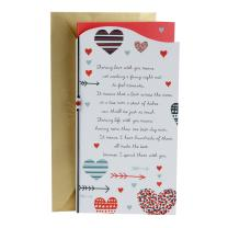 Hallmark Valentine's Day for Significant Other (Hearts and Arrows)