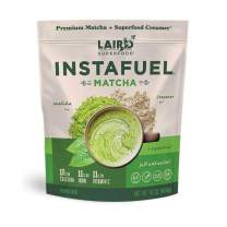 Laird Superfood Instafuel Matcha Plus Creamer - Matcha Latte Green Tea Powder Packed with Antioxidants, 1lb Bag