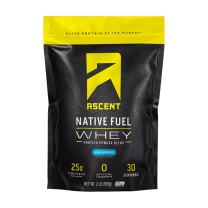 Ascent Native Fuel Whey Protein Powder - Unflavored - 2 lbs