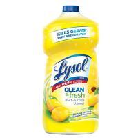 Lysol Clean & Fresh Multi-Surface Cleaner, Lemon & Sunflower, 40oz