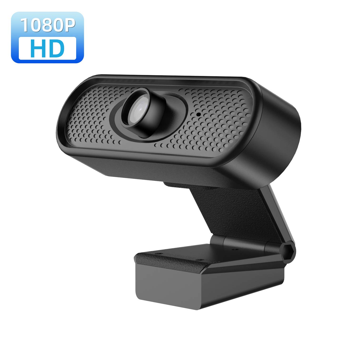 Webcam with Microphone, 1080p HD Computer Camera, USB Computer Camera for Live Streaming Webcam, Plug and Play Video Calling Webcam, Large Sensor Superior Low Light for Conferencing, Gaming
