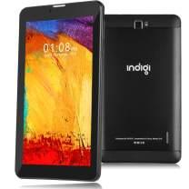 Indigi 4G LTE GSM Unlocked 7-inch Google Certified Android 9 Pie TabletPC & Smartphone 4Core @1.3GHz (2GB RAM/16GB Storage + DualSIM Slots + SD Card) (BLK)