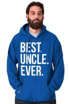 Brisco Brands Best Uncle Ever Niece Nephew Fathers Day Hoodie