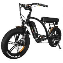 Electric Bicycle for Adult 20 Inch Fat Tire 48V11.6AH Removable Lithium-ion Battery 750W Rear Brushless Motor Electric Bike Electric Assist Mountain Snow Beach Cruiser Motan M-60 R7 Bicycle