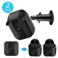 Blink XT2 XT Camera Wall Mount Bracket, Upgraded Mental Weather Proof 360 Degree Protective Cover for Blink XT XT2 Home Security Camera, Indoor/Outdoor Adjustable Mount (Black(2 Pack))