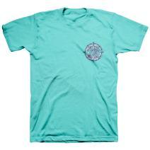 Cherished Girl Women's Compass T-Shirt - Scuba -