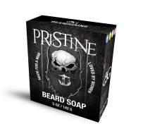 Beard Gains Pristine Organic Goat Milk Original Cologne Scented Beard Soap Conditioner - Mens Anti Dandruff Itch (5oz)