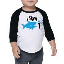 One Birthday Shark Shirt for Boys, First Birthday Shark Outfit