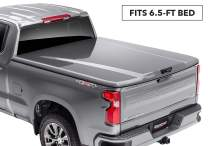 "Undercover Elite LX One-Piece Truck Bed Tonneau Cover | UC1128L-66 | Fits 14-15 Chevrolet Silverado 1500-3500HD 66(WA412P) - Sonoma Jewel Red 6'5"" Bed"