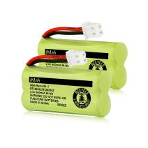 iMah BT183342/BT283342 2.4V 400mAh Ni-MH Battery Pack, Also Compatible with AT&T VTech Cordless Phone Batteries BT166342/BT266342 BT162342/BT262342 CS6709 CS6609 CS6509 CS6409 EL52100 EL50003, 2-Pack