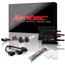 Xentec 9012 6000K HID xenon bulb x 1 pair bundle with 2 x 35W Digital Slim Ballast (Ultra White)