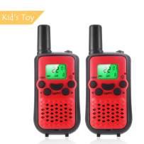 Handheld Real Walkie Talkies Kids Toy Set,2 Way Radio Walky Talky Best Gift for Outdoor Adventure